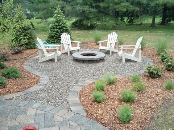 Dream Yards: Incredible Custom Backyard Fire Pits and BBQ ...
