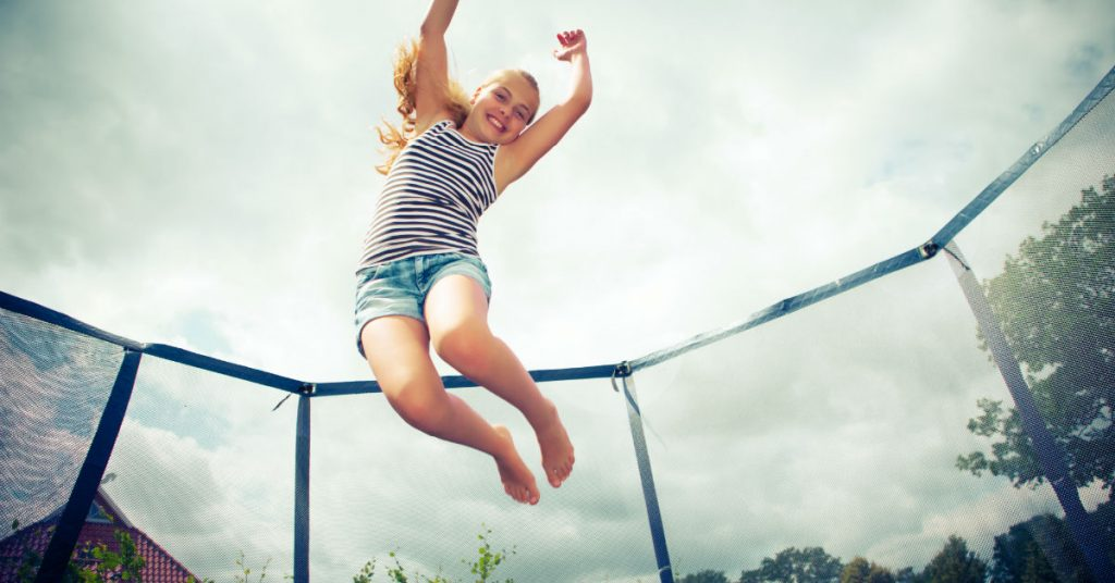 In-Ground Trampoline Safety for the Kids