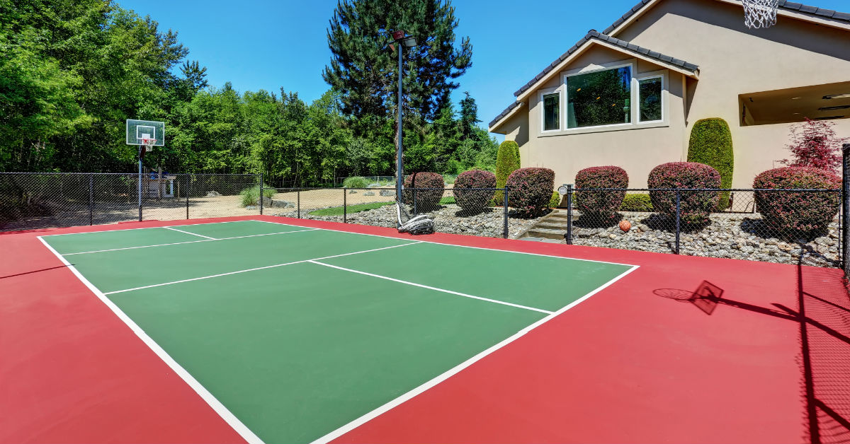 Incorporating a Space for Sports into Your Landscape